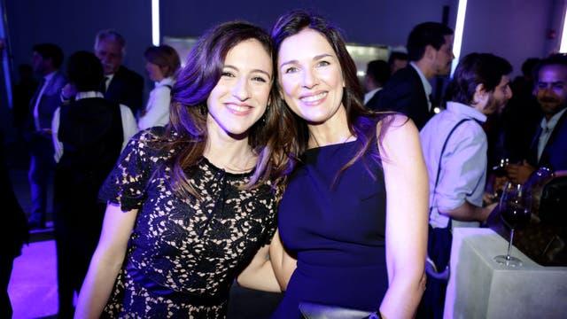 Carolina Amoroso y Andrea Frigerio. Foto: LA NACION