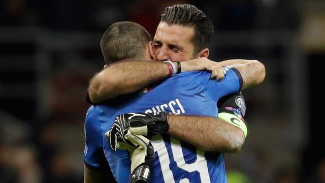 La tristeza de Buffon, tras la no clasificación de Italia al Mundial de Rusia 2018