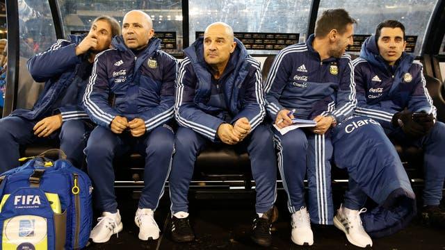 Cuerpo tecnico de la Selección Argentina