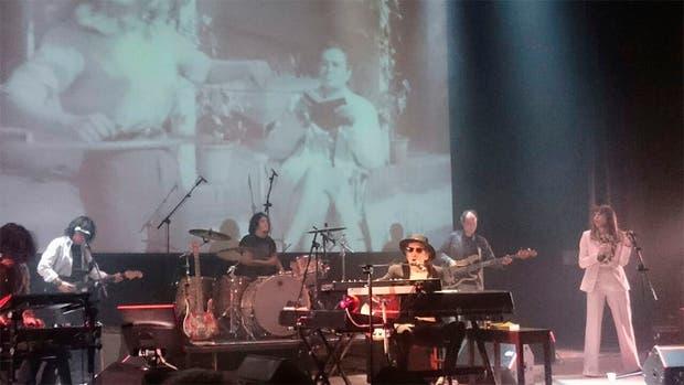Charly García presentó en vivo su nuevo disco RANDOM