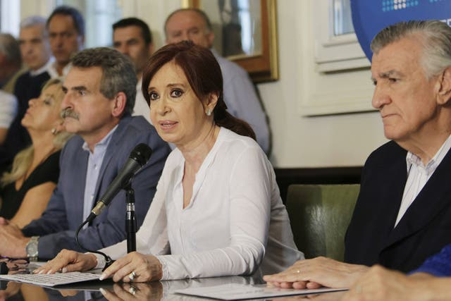 Cristina Kirchner, parte del rearmado de un peronismo en la Argentina