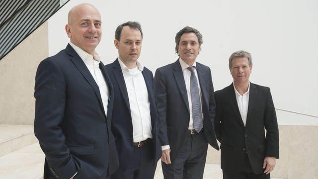 Entre pares. Speranza (NewmarkGrubb), Millán (JLL), Cazes (LJ. Ramos) y Salvo (Raghsa), en el Malba