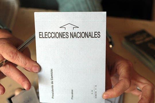 Una jornada electoral que se desarrolló con total tranquilidad. Foto: Miguel Acevedo Riú