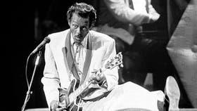 Berry, en un concierto de 1986