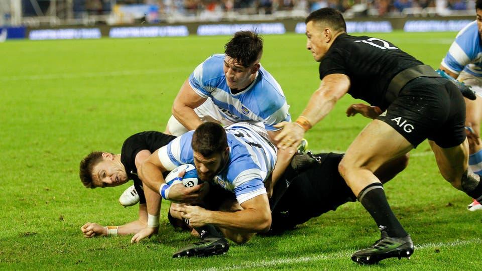 Los Pumas vs All Blacks en Vélez. Foto: LA NACION / Rodrigo Néspolo