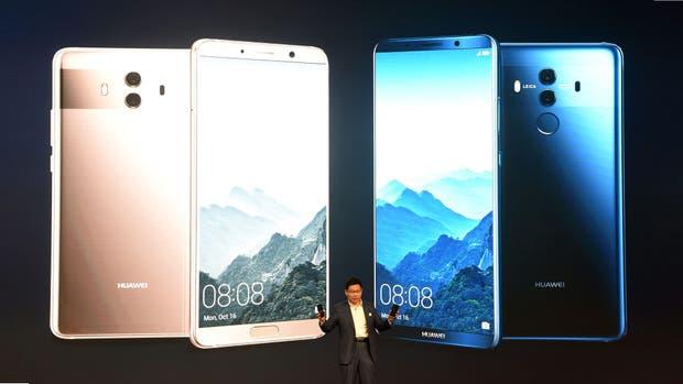 El Huawei Mate 10 tiene una pantalla de 5,9 pulgadas; el Mate 10 Pro, de 6 pulgadas sin bordes; ambos con soporte para HDR10