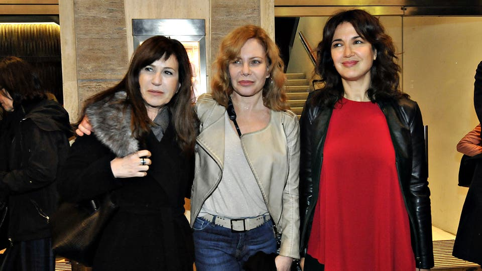Mercedes Morán, Cecilia Roth y Andrea Bonelli también dijeron presente en este especial estreno . Foto: LA NACION / Gerardo Viercovich