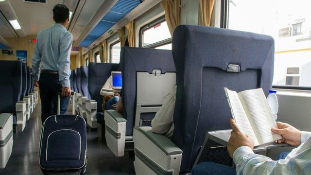 El tren a Mar del Plata por dentro