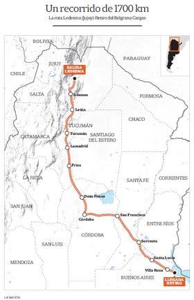 Resultado de imagen para tren de carga entre Jujuy y Buenos Aires
