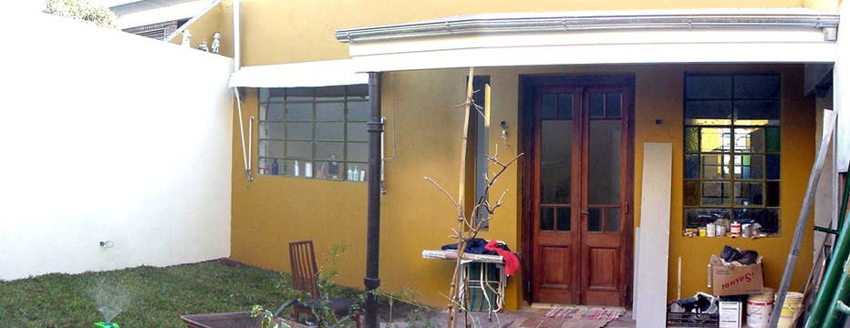 La arquitecta Liliana Araujo logró mantener el estilo de la propiedad rejuveneciéndola. Foto: LA NACION LINE