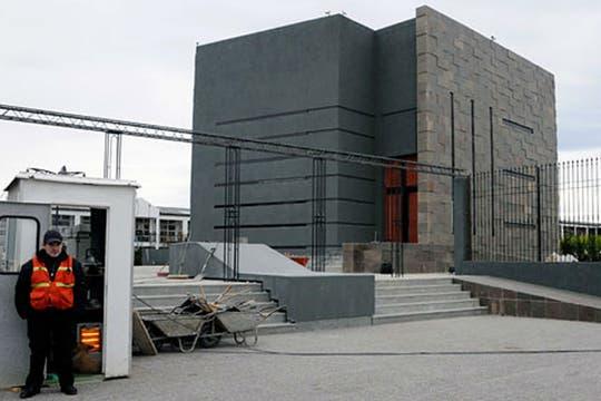 El mausoleo de Néstor Kirchner, terminado. Foto: OPI Santa Cruz