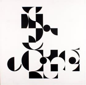 Tres obras que marcan distintas etapas del trabajo de Le Parc: Reflejos (1967), Reales y virtuales (1959-1990) y Continuo. Luz con formas en contorsión (1966-2012)