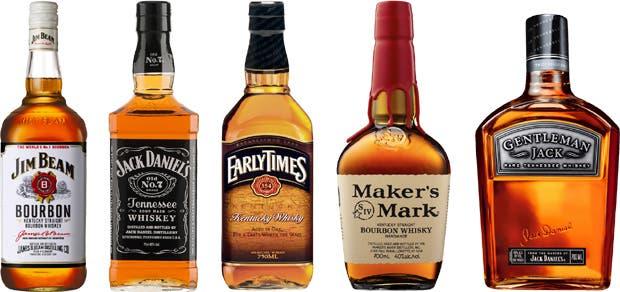 Es la variedad de whisky americano más conocida, se produce principalmente en Kentucky y está muy presente en la nueva coctelería argentina. Aquí, cinco marcas que se consiguen en el país. ¿Cuál es tu favorito?