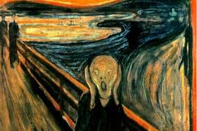 El Grito, de Edvard Munch, el anterior récord de subasta