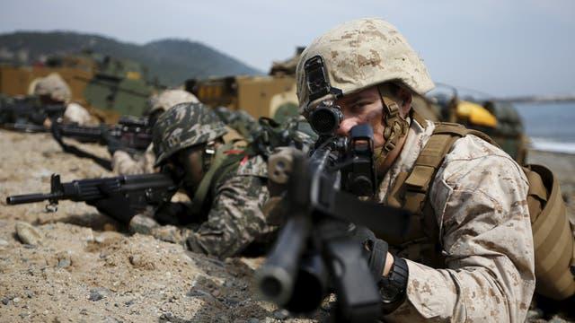 De la acción conjunta participan 15.000 estadounidenses, cuatro veces más que en 2015, y 300.000 militares sur coreanos