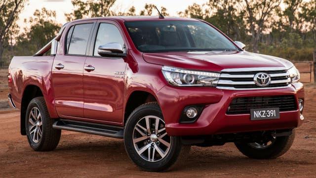 La pick up Toyota Hilux fue el modelo 0km más vendido en 2016.