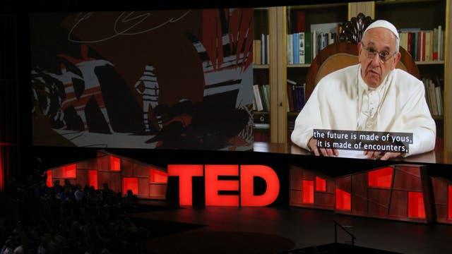El papa Francisco dio una charla TED
