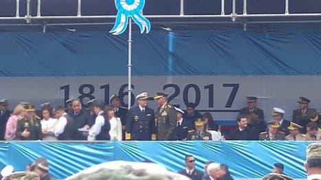 """El ministro de Defensa explicó cómo se produjo el """"error histórico"""" en el palco oficial del 25 de mayo"""