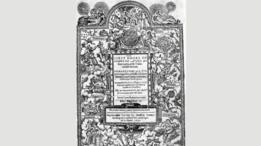 Este libro de 1597 de Dowland fue uno de sus muchos cuadernos de música que gozaron de gran popularidad.