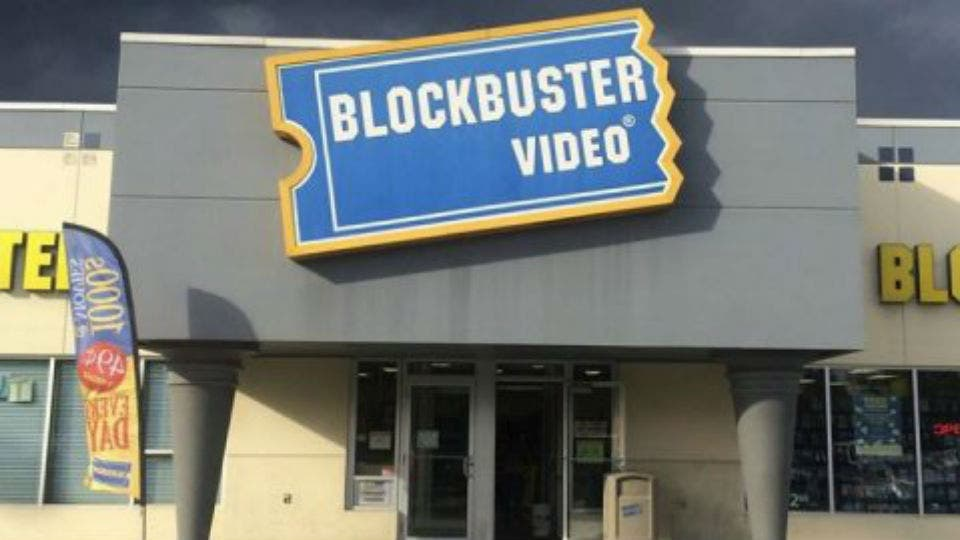 Un local de Blockbuster en Alaska