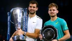 Lo que no pudo Roger lo consiguió Baby Federer: Grigor Dimitrov se coronó campeón del Masters de Londres
