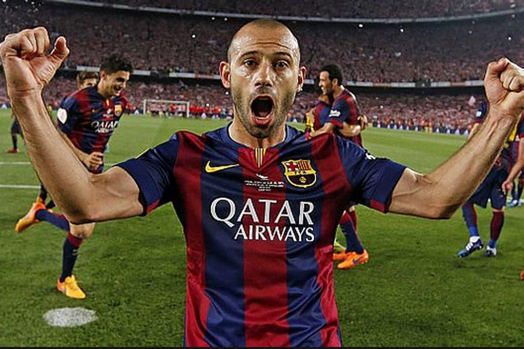 Javier Mascherano deja Barcelona y se reencontrará con Manuel Pellegrini en China