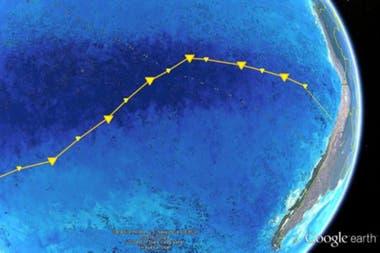 Los investigadores exploraron la zona desde Chile hasta Nueva Zelanda