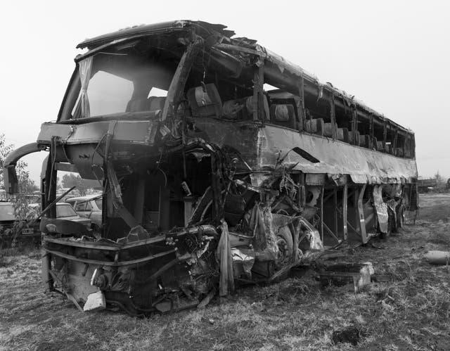 El ómnibus, después de la tragedia