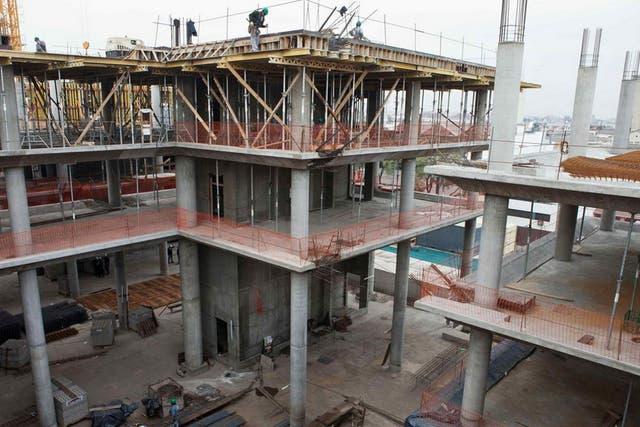 La construcción volvió a crecer