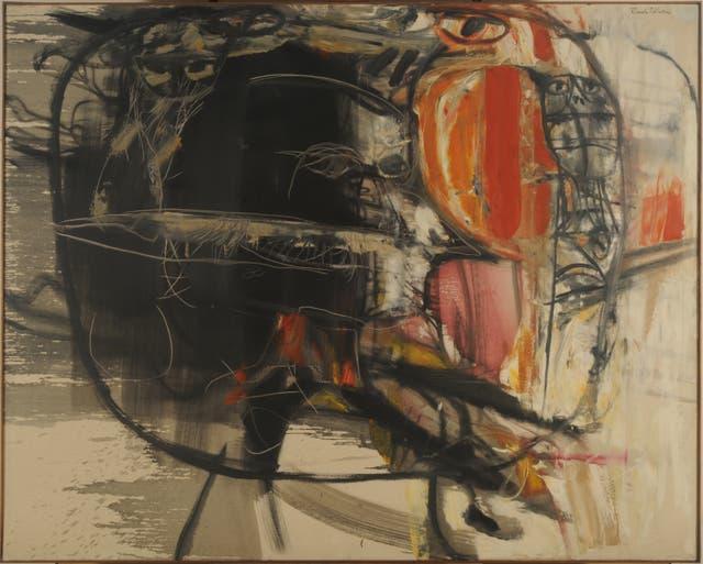 Hambre (1961), óleo sobre tela, colección Museo Nacional de Bellas Artes