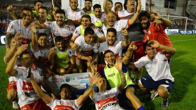 Deportivo Morón festejó ante Unión