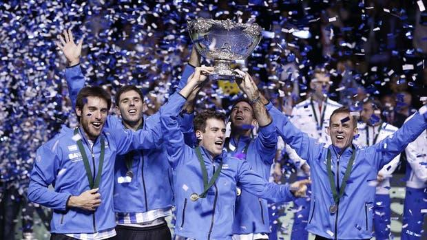 La inolvidable consagración del tenis argentino en Zagreb