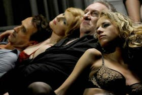 El actor Gérard Depardieu interpreta a Dominique Strauss-Kahn en el film que muestra las fiestas y orgías del ex titular del FMI