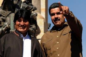 Evo Morales y Nicolás Maduro tienen un estrecho vínculo político