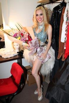 Después del estreno para prensa, Fátima Florez disfruta de su debut teatral con Fátima es única. Foto: Virtual Press