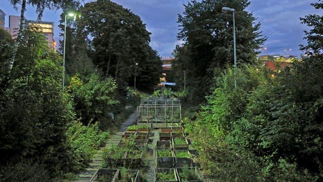 Una vista general de Garden on the track en Estocolmo