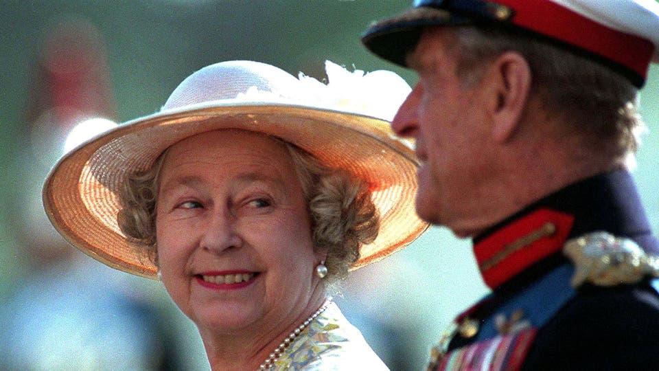 El 13 de junio de 1996 asisten al desfile Horseguards . Foto: Reuters