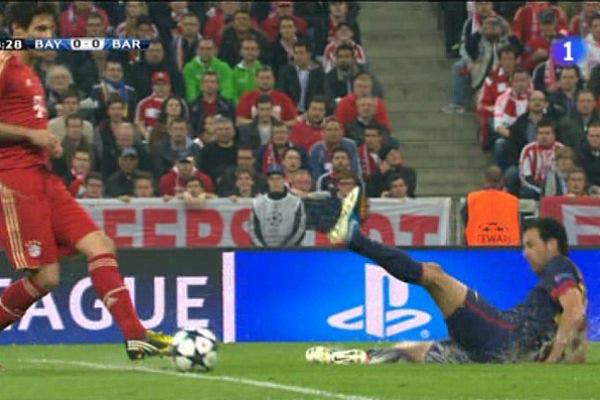 Barcelona estuvo desconocido y perdió 4 a 0.  /Captura TV