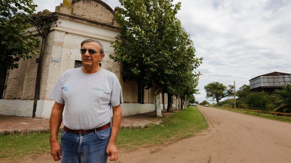 Francisco Ambrosio de 71 años. Foto: LA NACION / Ricardo Pristupluk
