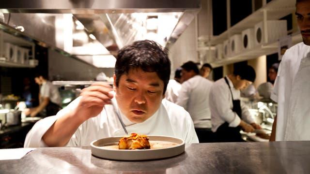 Micha fue el primer chef invitado del programa ICBC Exclusive Gourmet.
