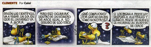 La tira que salió hoy publicada en Clarín