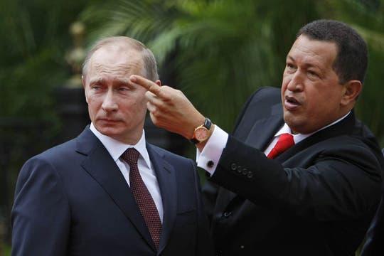 En abril de 2010 recibió por primera vez al primer ministro ruso, Vladimir Putin. Foto: Archivo