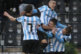 Los chicos de Racing, promesas para el fútbol argentino