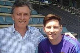 Macri mantiene la confianza sobre Messi y su continuidad en la selección