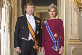 La foto oficial difundida por el Servicio de información de la Casa Real