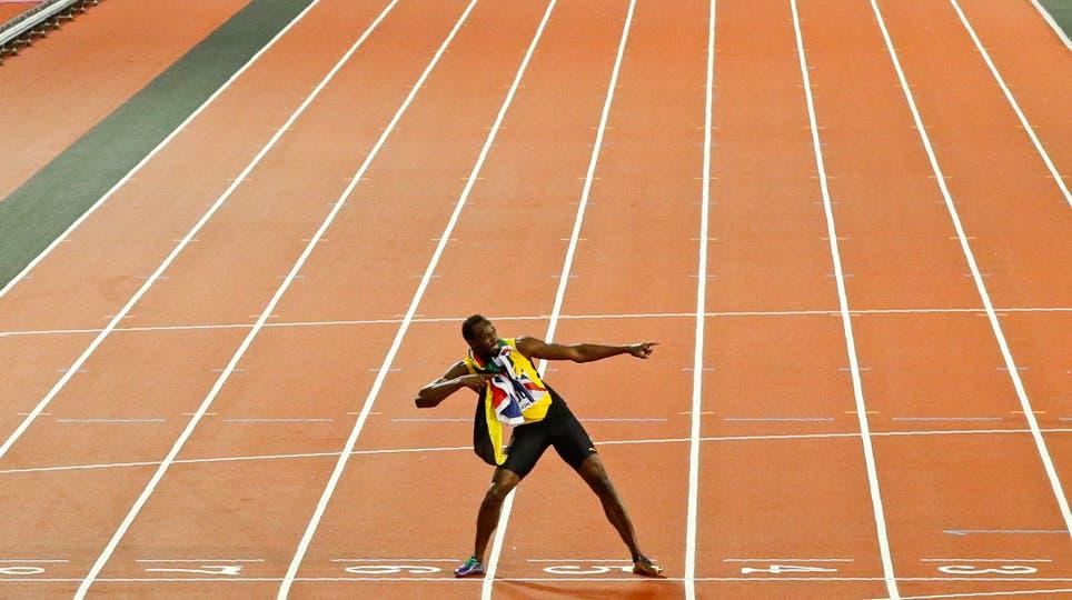 Usain Bolt se despide de las pistas. Foto: Reuters / John Sibley