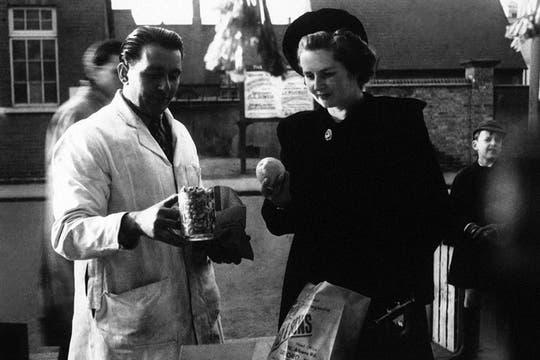 Fotografía sin fecha de Margaret Thatcher cuando aún era candidata a Primera Ministra Británica. Foto: Archivo