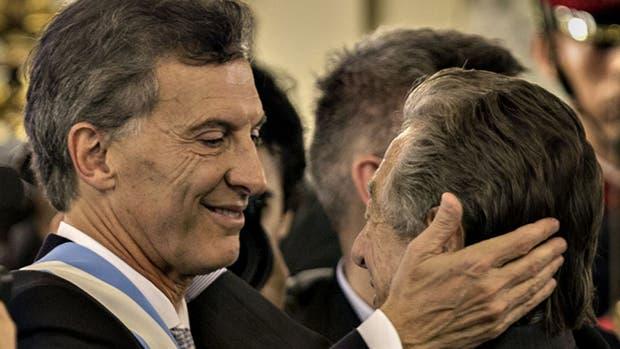 Mauricio Macri y su padre