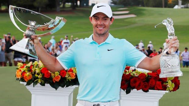 Bolsa de millones:Rory McIlroy ganó US$ 11.530.000 en un solo torneo