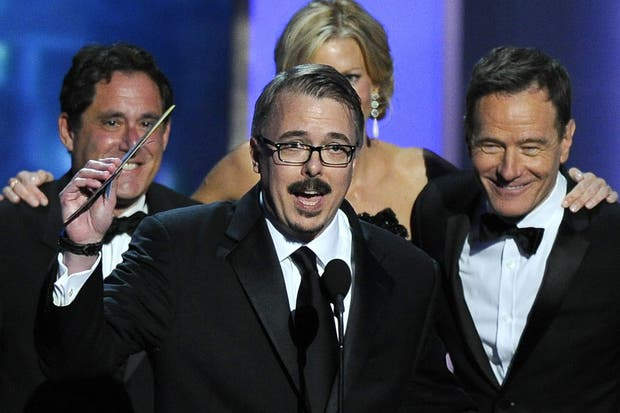 El elenco de Breaking Bad recibe su Emmy